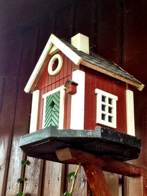 Lilla huset på huset.