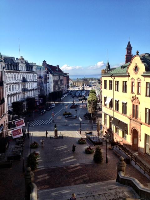 Utsikt från terrassen